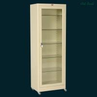 Метална витрина с 1 врата - медицински шкаф