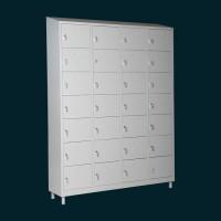 Шкафчета за багаж с 28 отделения - метални шкафове за съблекалня за 28 души