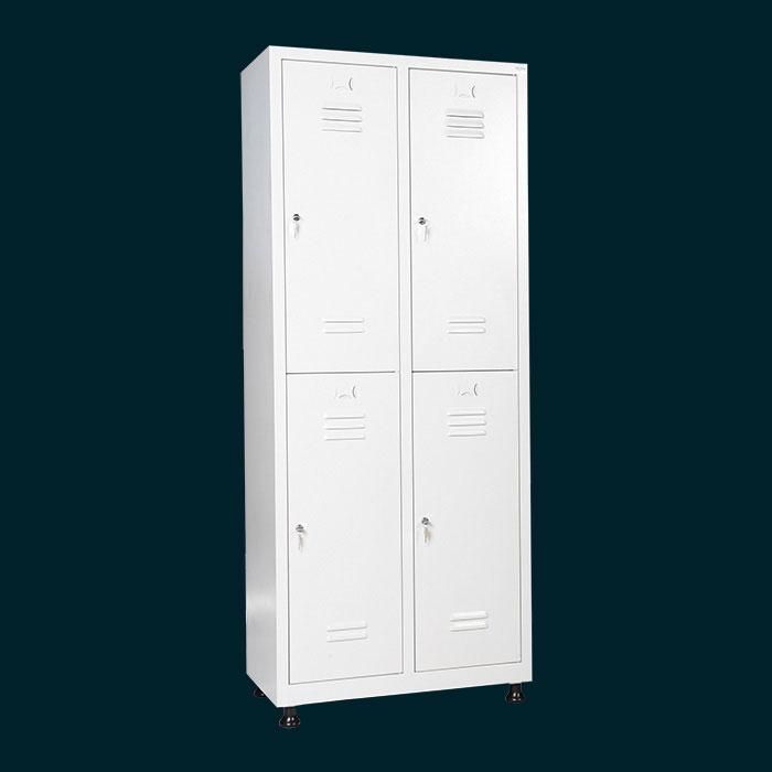 Метални шкафчета за съблекални за 4 души с 4 отделения