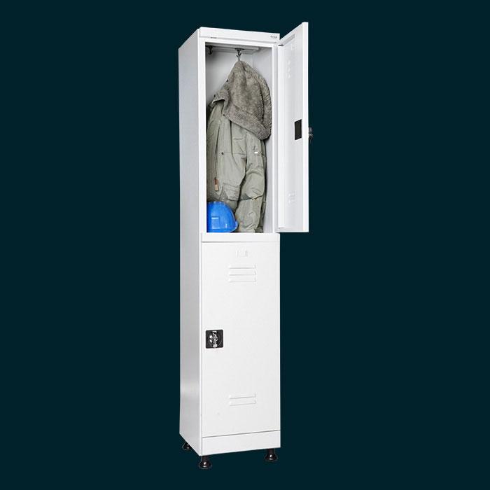 Метален шкаф за дрехи Хип-Хоп за двама
