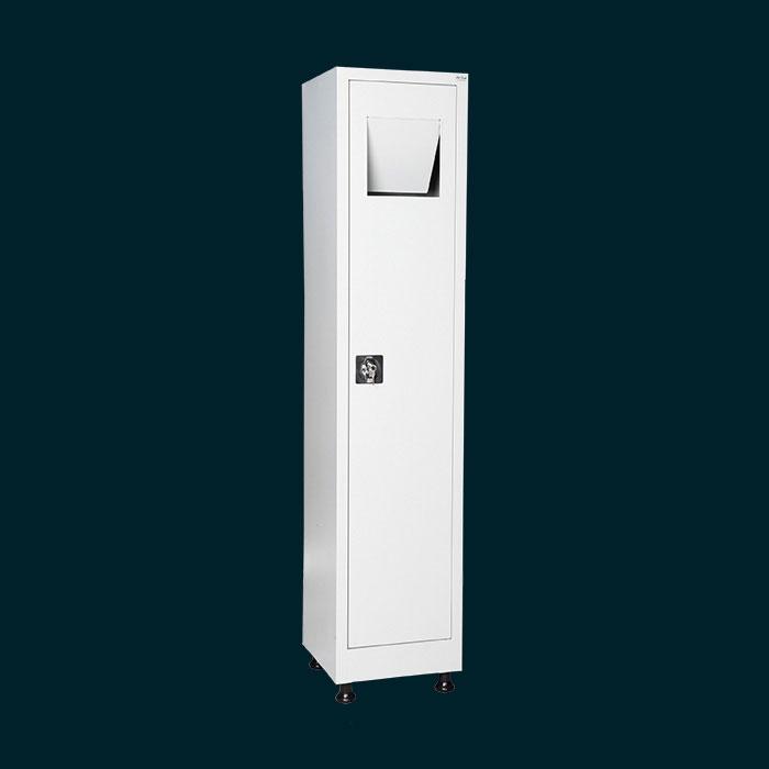 Шкаф за мръсни дрехи - за хотели, съблекални, офиси