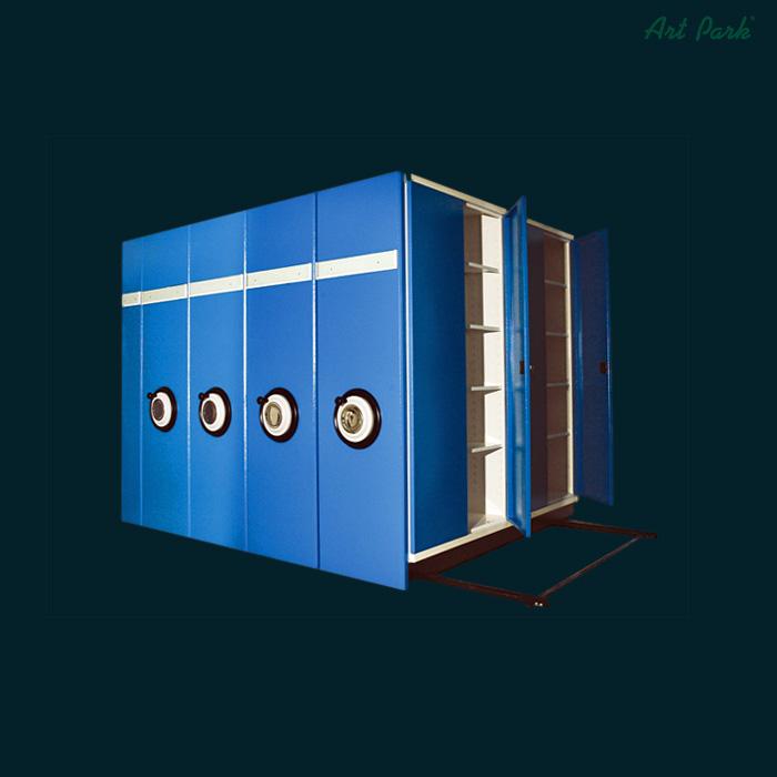 Шкафове за архиви на релси - подвижни