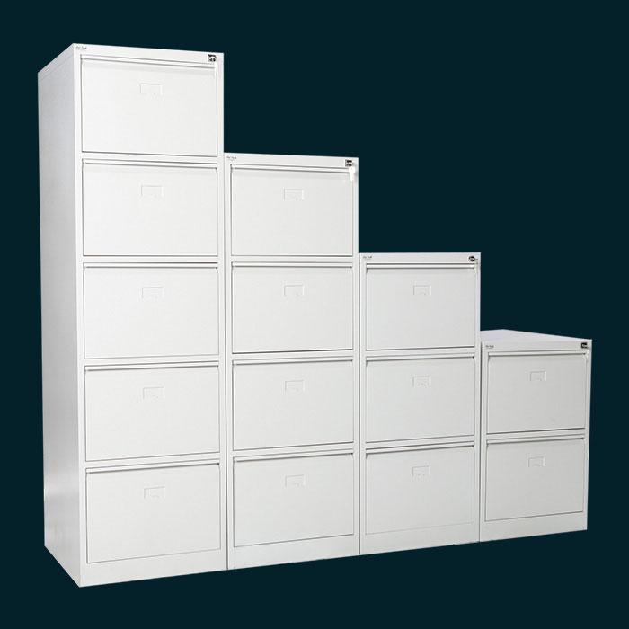 Офис шкафове - метална картотека