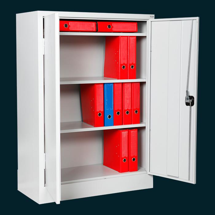 Нисък шкаф за класьори и папки